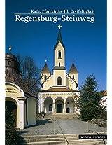 Regensburg: Kath. Pfarrkirche Hl. Dreifaltigkeit Steinweg (Kleine Kunstfuhrer / Kirchen U. Kloster)