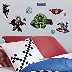 Roommates Marvel's Avengers Assemble Wall Decals