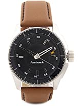 Fastrack Black Magic Analog Watch - For Men Tan - 3089SL05