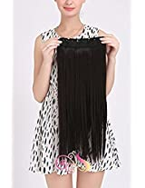 Straight Synthetic 24 inch Hair Extension (Natural Brown)