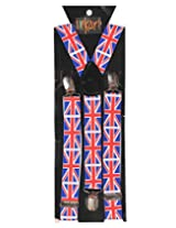 Tiekart Mens Y-Back Suspender (Sus218_Multi-Coloured)