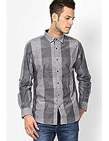 Light Grey Full Sleeve Casual Shirt