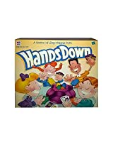 "1999 Hasbro ""Hands Down"" Game By Milton Bradley"