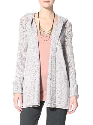 Kokun Women's Chunky Hoodie Jacket (Grey Nub)