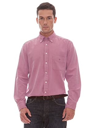 Gant Camisa Lisa (Rojo)