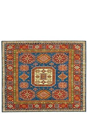 Kalaty One-of-a-Kind Kazak Rug, Blue, 6' 5