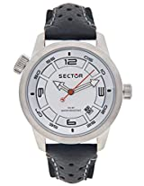 Sector Black Analog Men Watch R3251102145