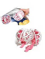 CONNECTWIDE® BRA BALL- Laundry Bubble Bra Ball Damaged Protection Net Mesh Bag Case/Holder