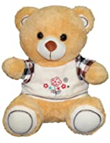 Monopoly Bear with T-Shirt, Brown (37cm)