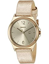 DKNY Women's NY2372 PARSONS Rose Gold-Tone Stainless Steel Watch