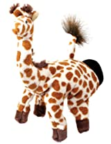 Hape Hand Glove Puppet Giraffe, Multi Color
