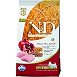 Farmina Natural And Deliciou LG Chicken And Pomegranate Adult Dog Food, 2.5 Kg (Mini)