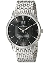 Claude Bernard Men's 64005 3M NIN Classic Gents Analog Display Swiss Quartz Silver Watch