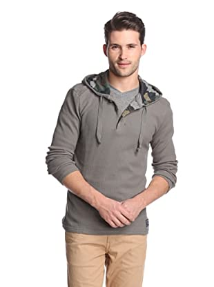 Union Jeans Men's Iron Horse Henley Hoodie (Gorge)