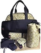 House of Botori Bolu Bowler Bag, Filigree Sage