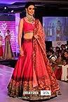 Genelia D'Souza Peach Pink Designer Bollywood Replica Lehenga