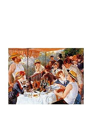 Legendarte Leinwandbild La Colazione Dei Canottieri di Pierre Auguste Renoir mehrfarbig