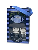 Baby Essentials Boys Cap And Sock Set - All Star
