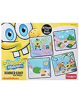 Funskool - Spongebob Squarepants 4 in 1 Puzzle