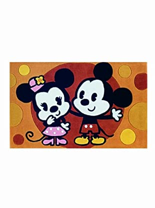 ABC Tappeti Alfombra Disney Tuft 2 (Naranja)
