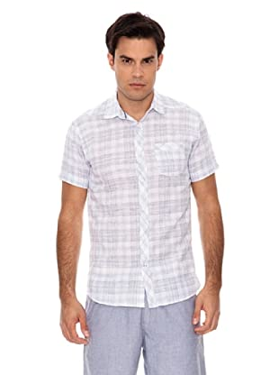 Springfield Camisa Cuadros Lino