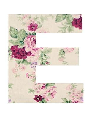 Letra Decorativa Letra E