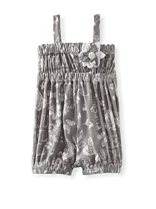 Baby Nay Woven Balloon Romper (Grey)