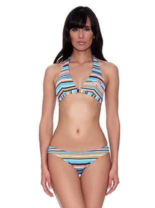 Bikini Tori (Azul / Naranja)