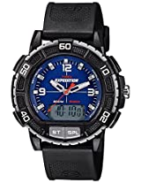 Timex Expedition Analog-Digital Blue Dial Men's Watch - T49968