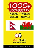 1000+ Nepali - Welsh, Welsh - Nepali Vocabulary