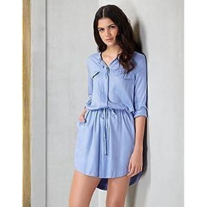 Chemistry Stylish Belted Shirt Dress