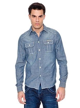 Pepe Jeans London Camisa Paragon (Azul)