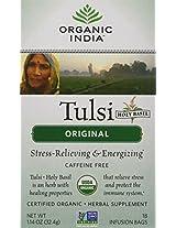 Organic India Tulsi Tea Original - 18-Count Teabags Pack Of 6
