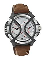 Fastrack Sport Analog-Digital Time Silver Dial Men's Watch - 38016PL02
