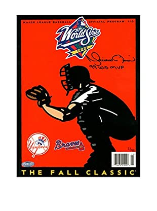 Steiner Sports Memorabilia Mariano Rivera Signed 1999 World Series Program, 12