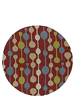 Kaleen Home & Porch Indoor/Outdoor Rug, Red, 5' 9