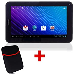 Maxtouuch MX-82456 Tablet with Free Pouch (WiFi, 3G via Dongle, Voice Calling)