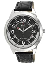 Q&Q Standard Analog Black Dial Men's Watch - A148J305Y