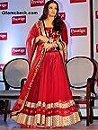 Aishwarya Rai in Red Monica and Karishma Lehenga-Frinkytown