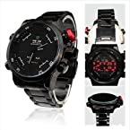 2013 Weide New Men's Watch Military Watches Sports Dual Time Dial LED Digital Quartz Alarm Wris...