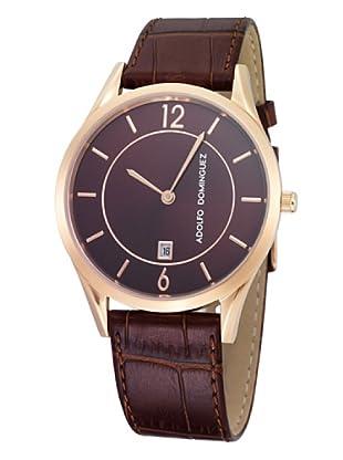 Adolfo Dominguez Watches 53003 - Reloj de Caballero cuarzo correa Marrón