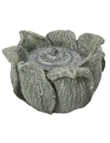 Sunterra 311202 Decorative Fountain Nozzle, Lotus Flower, Stone Grey (Discontinued by Manufacturer)