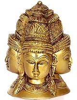 The Five Directional Forms of Shiva (Pancha-Mukhalingam) - Brass Sculpture