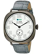 La Mer Collections La Mer Collections Unisex Lmovw2040 Analog Display Japanese Quartz Silver Watch - Lmovw2040