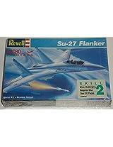 Revell Su 27 Flanker Micro Fighter Model Plane 1/144 Kit#4084