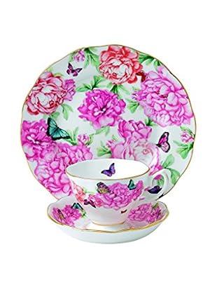 Royal Albert Miranda M Kerr Gratitude Teapot Creamer & Saucer 3-Piece Set, Multi