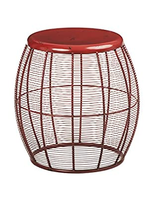 Premier Housewares  Hocker 2403806 rot