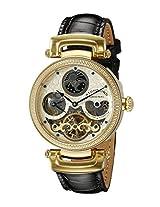 Stuhrling Original Special Reserve Analog Gold Dial Men's Watch - 353A.333531