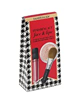 Bare Minerals Finishing Act Face & Lips (Finishing Powder, Natural Lip Gloss & Flawless Face Brush) 3pc Kit