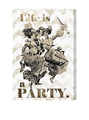 Oliver Gal 'Life Is A Party' Canvas Art